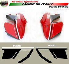 """Kit adesivi personalizzato per Carene dx e sx Ducati Hypermotard 796/1100 """"V590A"""