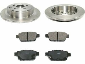 Rear Pronto Brake Pad and Rotor Kit fits Honda Ridgeline 2006-2014 85SZRC