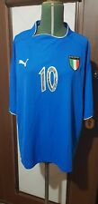 Maglia Totti Italia N.10 2003 Matchworn Player Issue Puma