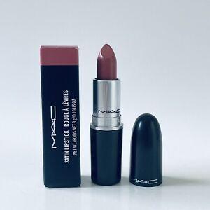 MAC Satin Lipstick #808 FAUX Full Size 0.10 Oz New With Box