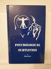 More details for banachek - psychological subtleties - magic book