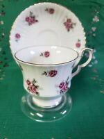 Royal Windsor Teacup & Saucer Set. Fine Bone China- England