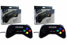 2x Wired Super Retro Controller Duo for SNES Retroduo Retroduo Portable - NEW!