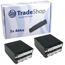 2x Akku 10400mAh für Sony HDR-AX2000 HDR-AX-2000 DCR-VX-1000 HDRAX2000