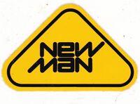 NEW MAN - AUTOCOLLANT STICKER PUBLICITAIRE - VETEMENTS