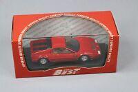 ZC1073 Best Model 9258 Voiture Miniature 1/43 Ferrari 512 BB 1976 Rosso Red