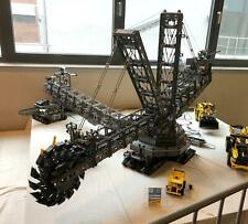 Bauanleitung instruction 42055 XXL Kohlebagger XXL Eigenbau Moc aus Lego Technic