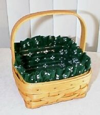 Longaberger Rare Retired Tarragon Basket Set-Brand New-Lmtd Edition-Last One !