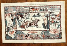 1923 La Vie Parisienne French Magazine Centerfold - Comedies and Tragedy of Park