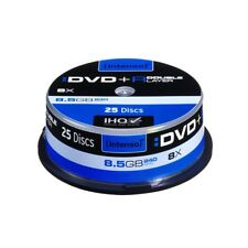 INTENSO DVD+R 8,5GB Double Layer 8fach Speed  Rohlinge 25er Spindel NEU