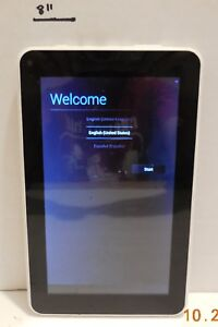 """RCA 7"""" Android Tablet White 4.2.2 Jelly Bean 8GB Dual Core Wifi Model RCT6272w23"""