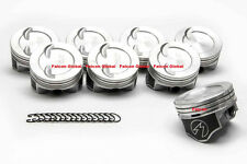 Chevy 350 383 Dished Hypereutectic Coated Pistons 9.6:1 H859CP 040 stroker