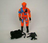 GI Joe 1989 Alley Viper V1 w/ Visor Cobra Urban Assault Trooper ARAH Figure