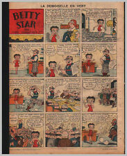 1935/36 (ref B/I 1627) RC BD BETTY STAR ( BETTY BOOP ) 1page 26x36 cm