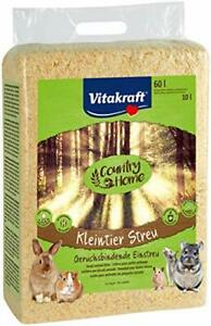 Vitakraft 25036Bedding for Rodents 60L, Hamster/Rabbit/Rat Bedding 100%
