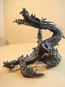 Antique JapaneseMeijiPeriodBronzeDragon Sculpture Statue Figurine