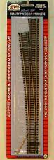 NIB HO Atlas Mark IV 565 #8 Manual Left Hand Turnout Code 83 Snap Track