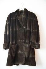 Faux Fur Kunstpelz Mantel Voigt Style M 38, wie Neu!