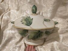 Fitz And Floyd Classics Manhattan Garden Large Serving Soup Tureen with latel