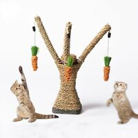 Cat Toys Interactive Tree Tower Shelves Climbing Frame Scratching Sisal Ropes
