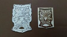 Tribal Indian Mask Sizzix Thinlits Die Cutter & gaufreur pour Big shot cuttlebug