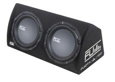 "Fli Underground FU12TA Twin 12"" Active Amp Subwoofer Box Enclosure 2000w"