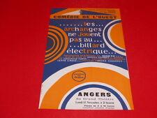 [Collection J. LE BOURHIS / AFFICHES] DARIO FO BILLARD ELECTRIQUE ANGERS 67 CDO