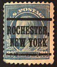 Rochester, New York EARLY Precancel - 20 cents Franklin (U.S. #515) NY