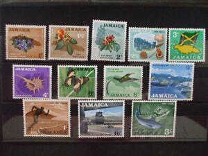 JAMAICA- 1964 General Issue Part Set of 12vs MH Cat 12.65 (29D)