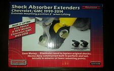"Rear Shock Extender Kit For 2-4"" Lift | Chevy Silverado GMC Sierra 1500 99-14"