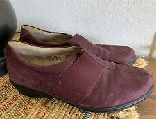 Womens Waldlaufer pump shoes, Size 10, Purple Hungarian Leather