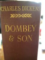 "Charles Dickens ""DOMBEY & SONS ""  by Chapman And Hall 1913"
