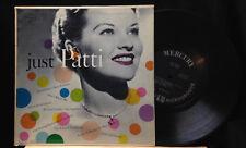 Patti Page-Just Patti-Mercury 25196-10 INCH