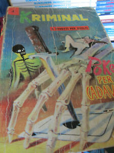 Kriminal n. 4 - Edizione originale Novembre 1964 150 lire - Editoriale Corno