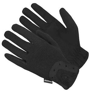 Women Equistrian Grip Horse Riding Gloves Running Leather Driving Cycling Mitts