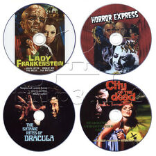 Horror DVD Collection: Satanic Rites, Horror Express, Lady Frankenstein, City of