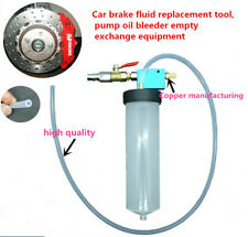 Car Brake Fluid Oil Change Replacement Tool Pump Oil Bleeder Empty Exchange tool