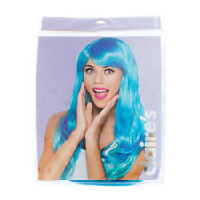 Claire's Womens Halloween Turquoise Wig Costumes One Size