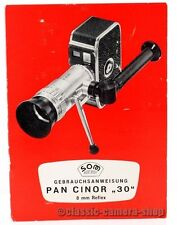 "Som Berthiot manuel d'utilisation ""pan cinor 30"" user manual MODE D'EMPLOI (x2370"