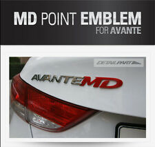 [Kspeed] Avante MD point emblem (Fit: HYUNDAI Elantra)