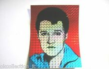 ADESIVO anni '80 / Old Sticker ELVIS PRESLEY (cm 11,5 x 15 carta brillante)