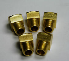 Brass Fittings 45° Street Elbow Extruded Female Pipe 1/8