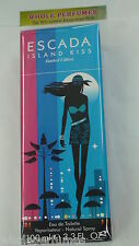 ESCADA ISLAND KISS 3.3 / 3.4 OZ EAU DE TOILETTE EDT SPRAY FOR WOMEN NEW IN BOX