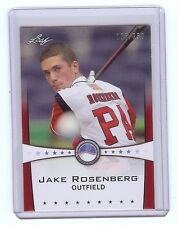 JAKE ROSENBERG 2013 Leaf *POWER SHOWCASE* Ruby Version #d Card RC xx/250