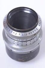 SCHNEIDER H8, 8MM D-MOUNT COATED 25MM, 2.5CM 1.5 XENON FOR BOLEX