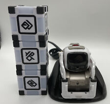 Anki Cozmo Robot White Red Cosmo 3 Cubes, Charger, Educational Fun Toy