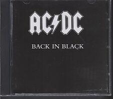 Ac/ Dc - Back in Black CD Oz ALBERT PICTURE DISC (vgc)
