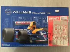 Fujimi Williams FW14B 1992 1/20 + Up Grade Parts + Décals Tabac