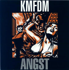 KMFDM - Angst (CD 1993-extended edition 5 bonus) electro RARE !!!
