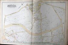 1888 G.W. Bromley Brighton-Boston, Ma Union Street Primary School Plat Atlas Map